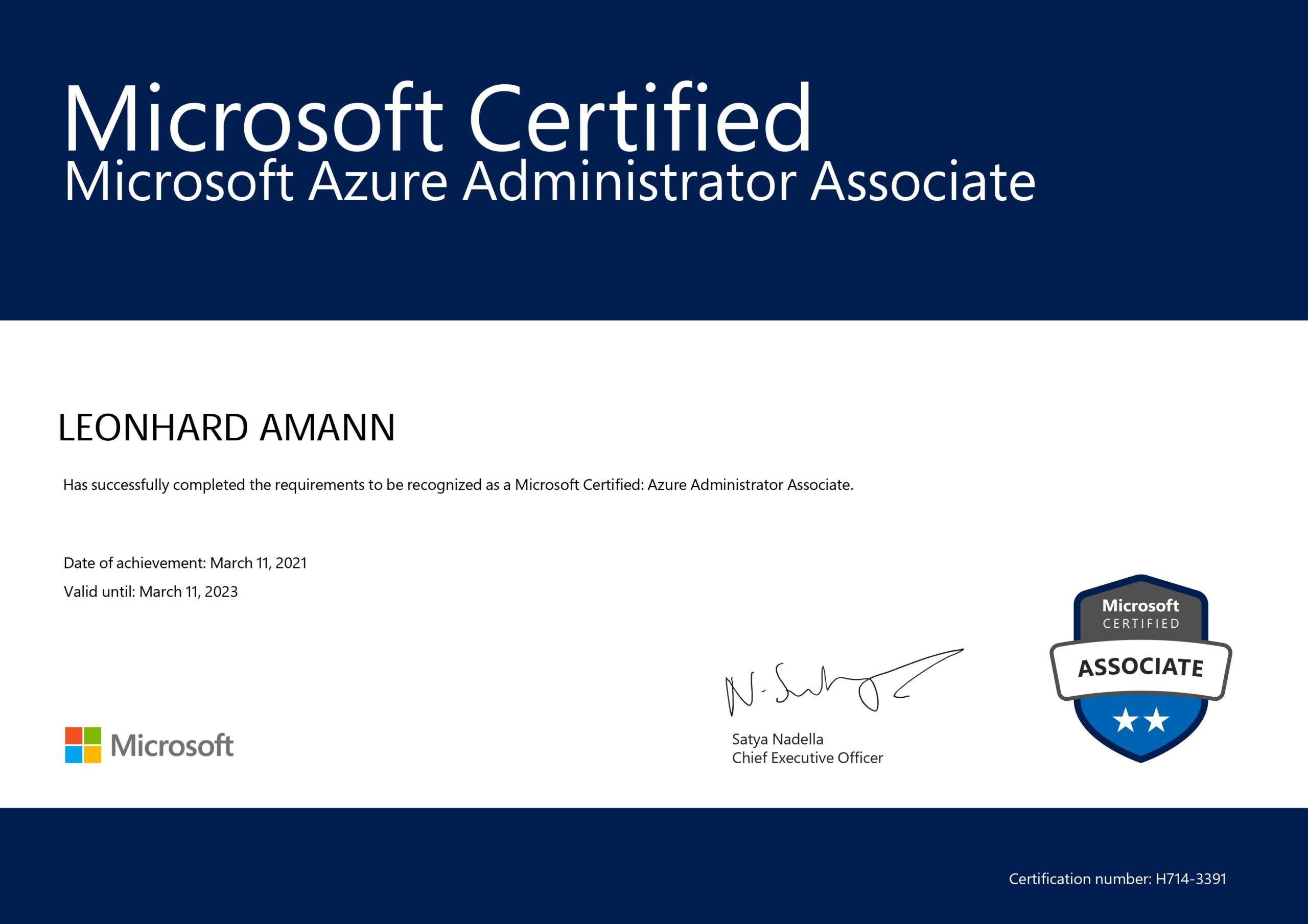 KAISYS.IT Auszeichnung Reutlingen Microsoft Azure Leonhard Amann