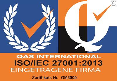 KAISYS.IT Pfullingen Zertifizierung ISO 27001 2013