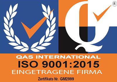 KAISYS.IT Pfullingen Zertifizierung ISO 9001 2015